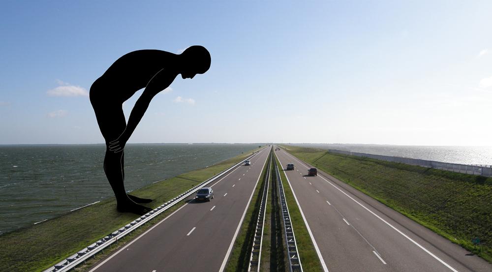 Kunst openbare ruimte Afsluitdijk