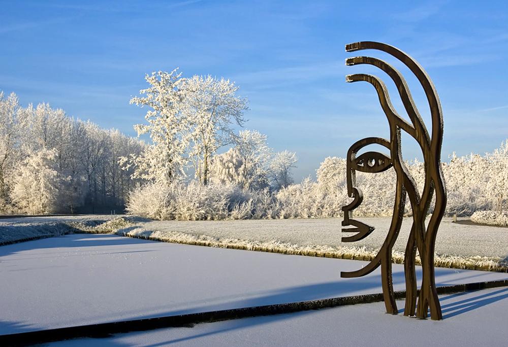 het grote gezicht   kunstwerk gemaal joure   bloklugthart nl