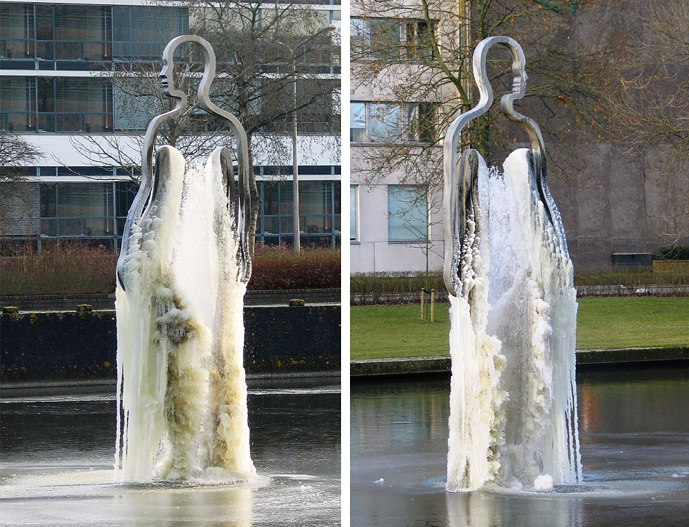 Kunst openbare ruimte, bloklugthart, groningen, public art, bas lugthart, maree blok, fontein, kunstwerk, sculptuur