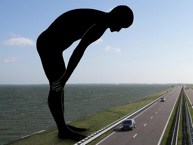 kunst openbare ruimte Afsluitdijk-Bloklugthart