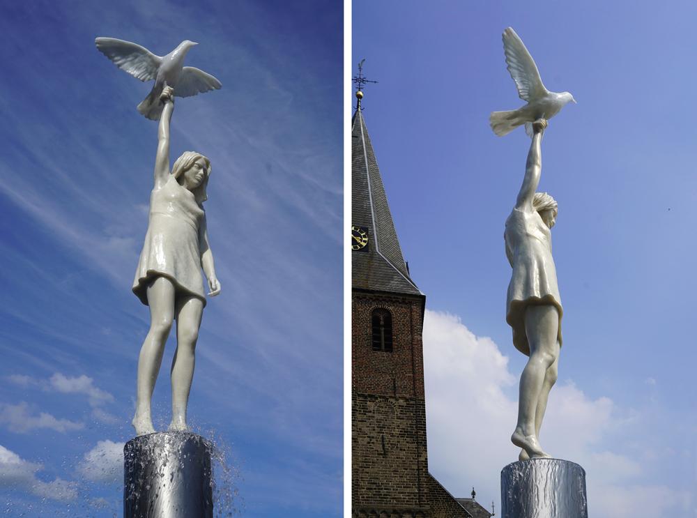 kunstwerk openbare ruimte bloklugthart gemeente Duiven