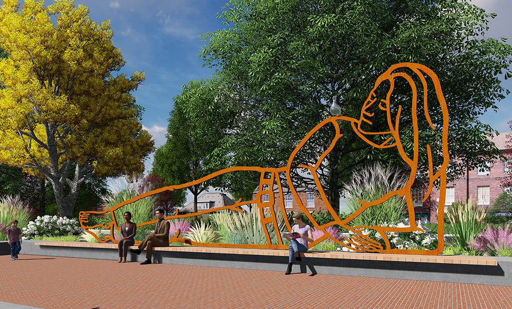 kunst openbare ruimte Diemen kunstwerk Bloklugthart