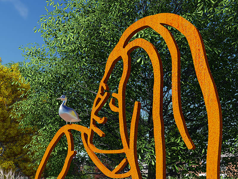 Kunst openbare ruimte Bloklugthart Diemen, public art