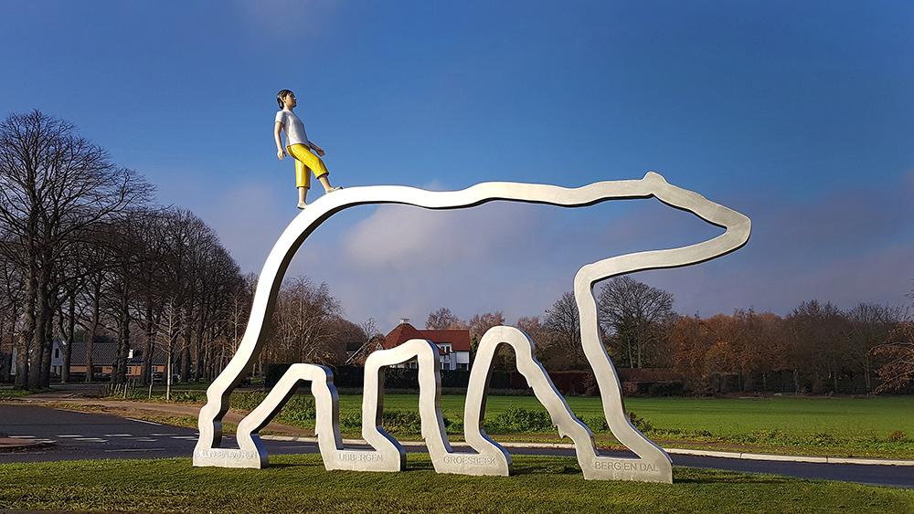 kunst openbare ruimte, kunstwerk bloklugthart, kunst berg en dal, groesbeek