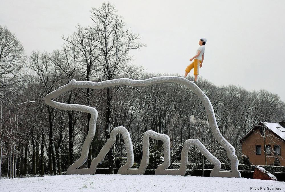 Kunst openbare ruimte, Bloklugthart, Berg en dal